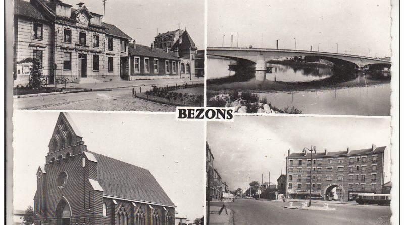 Ancienne carte postale de Bezons