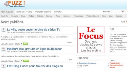 Fuzz : web 2.0 en trois questions