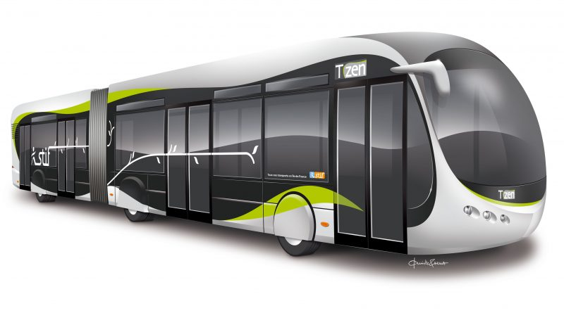 Photo du nouveau bus Tzen