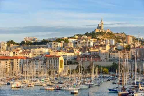 Photo du Vieux Port à Marseille