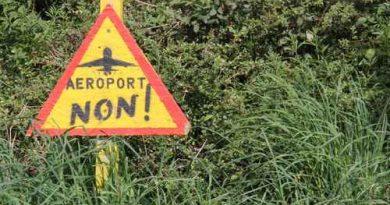 Panneau contre le projet d'aéroport de Notre Dame des Landes