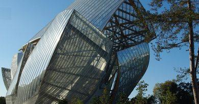 Photo de la Fondation Louis Vuitton au Bois de Boulogne à Paris
