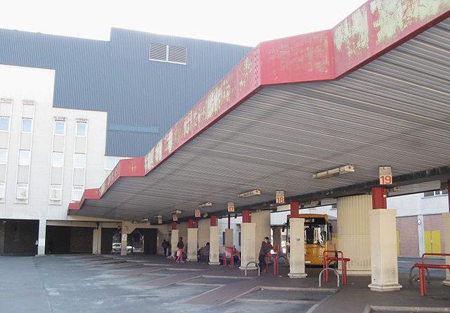Photo d'une gare routière