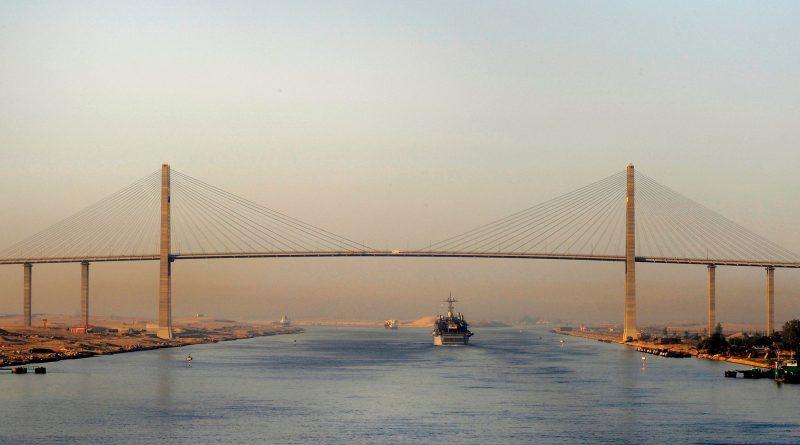 Photo du canal de Suez