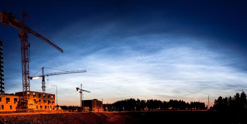 Photographie d'un chantier
