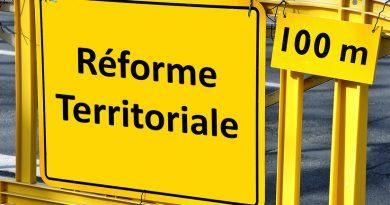 Affiche Avis de réforme territoriale!
