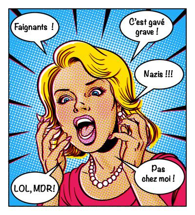 Commentaires en bande dessinée