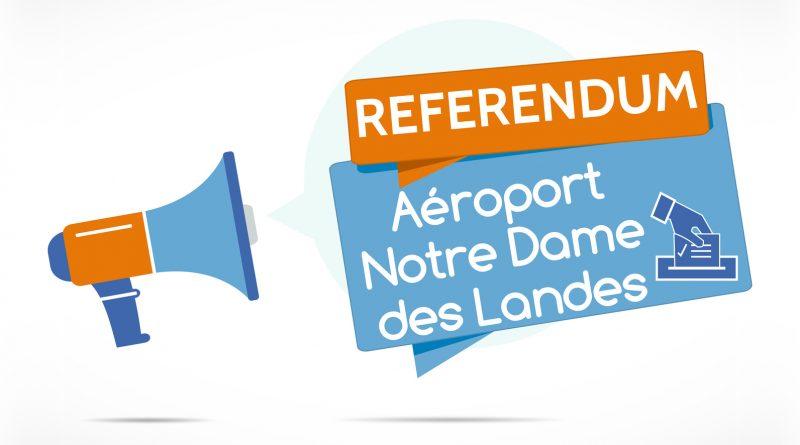 Annonce d'un référendum sur l'aéroport de Notre Dame des Landes