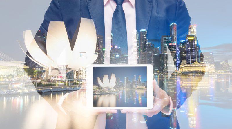 Photo représentant la ville du futur