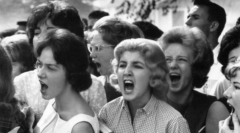 Photo représentant des femmes protestant