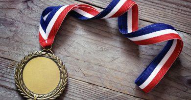 Photo d'une médaille olympique_Shutterstock