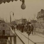 En 1900 le piéton avait déjà de l'avenir